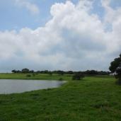 Lake inside the Plateau