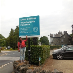 The Parking of Dove Cottage