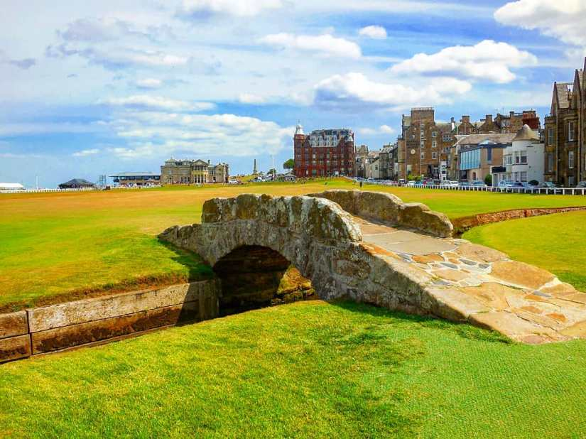 Golfer's Oasis: A day in the Splendid city of St.Andrews