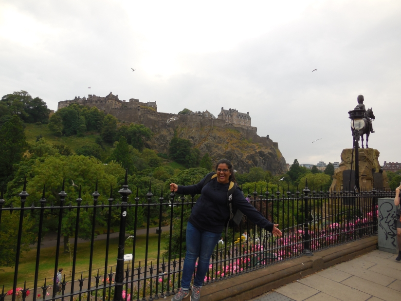 When In Neoclassical Capital of Scotland: Edinburgh